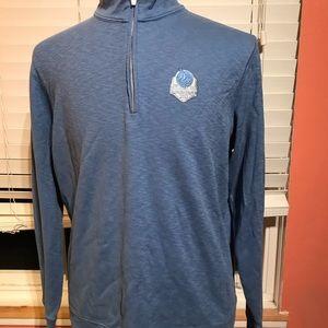 NWOT Peter Millar Half Zip Pullover Sweater Large